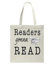 Readers Gonna Read Tote Bag thumbnail