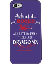 Books Are Better With Dragons Phone Case thumbnail