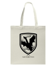 Fly with the dragons of Sanctuary Texas Tote Bag thumbnail