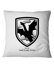 Fly with the dragons of Sanctuary Texas Square Pillowcase thumbnail