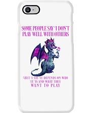 Dragon Wants to Play Phone Case thumbnail