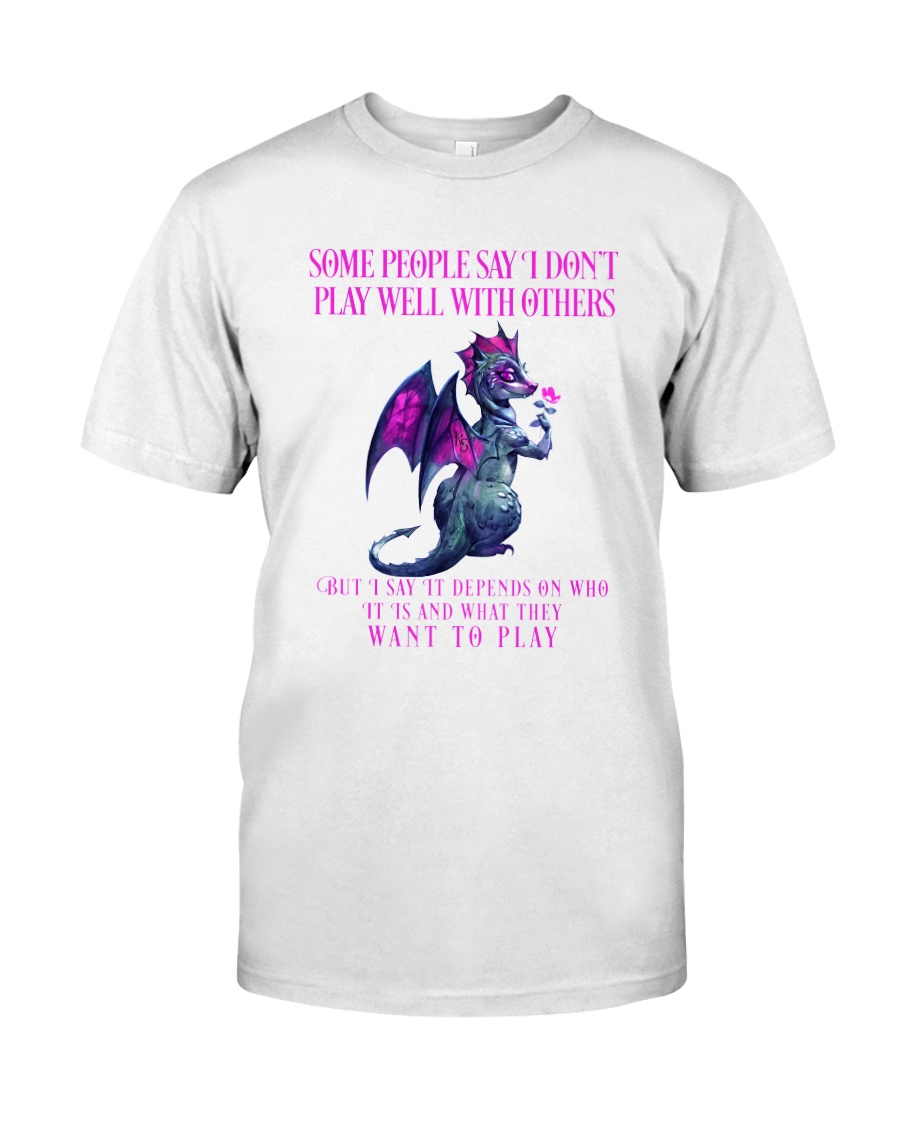 Dragon Wants to Play Classic T-Shirt