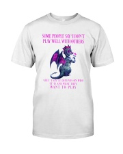 Dragon Wants to Play Classic T-Shirt front