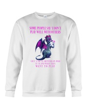 Dragon Wants to Play Crewneck Sweatshirt thumbnail