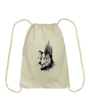 VonBrandt Moonbound Wolves Drawstring Bag thumbnail