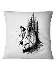VonBrandt Moonbound Wolves Square Pillowcase thumbnail
