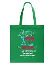 I Rode A Dragon Tote Bag thumbnail