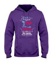 I Rode A Dragon Hooded Sweatshirt front