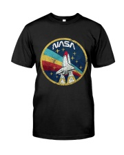 USA Space Agency Vintage Colors V03 T-Shirt Classic T-Shirt tile