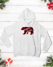 Mama Bear Hooded Sweatshirt lifestyle-holiday-hoodie-front-3