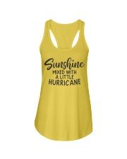 Sunshine Mixed With Hurricane Ladies Flowy Tank thumbnail