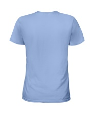 Sunshine Mixed With Hurricane Ladies T-Shirt back