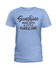Sunshine Mixed With Hurricane Ladies T-Shirt front