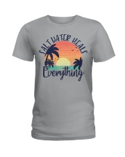 Salt Water Heals Everything Ladies T-Shirt thumbnail