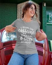 I Run On Caffeine Chaos And Cuss Words Ladies T-Shirt apparel-ladies-t-shirt-lifestyle-01