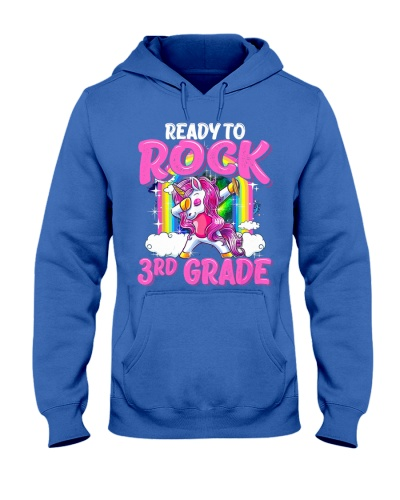 Ready To Rock 3rd Grade Dabbing Unicorn
