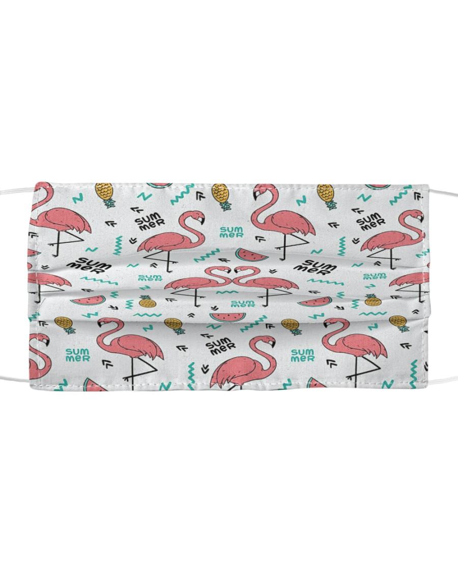 Flamingo 9 Cloth face mask
