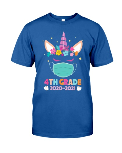 Quarantine Unicorn 4th Grade