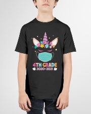 Quarantine Unicorn 4th Grade Youth T-Shirt garment-youth-tshirt-front-01