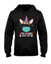 Quarantine Unicorn 4th Grade Hooded Sweatshirt thumbnail