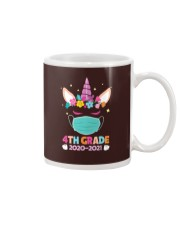 Quarantine Unicorn 4th Grade Mug thumbnail