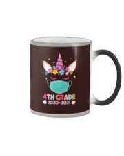 Quarantine Unicorn 4th Grade Color Changing Mug thumbnail