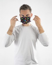 Autism Loveable Cloth face mask aos-face-mask-lifestyle-08