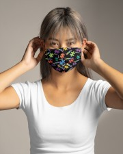 Autism Loveable Cloth face mask aos-face-mask-lifestyle-16