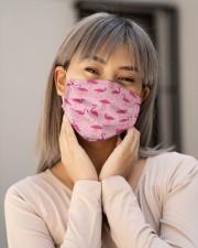 Flamingo 01 Cloth face mask aos-face-mask-lifestyle-17