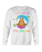 Stay Out Of My Bubble Crewneck Sweatshirt thumbnail