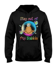 Stay Out Of My Bubble Hooded Sweatshirt tile
