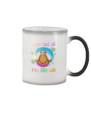Stay Out Of My Bubble Color Changing Mug thumbnail
