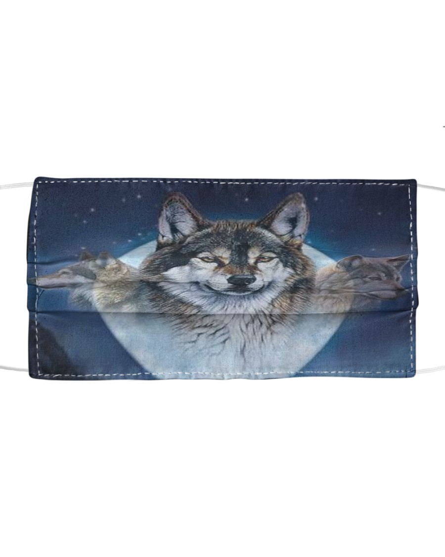 Wolf Cloth face mask