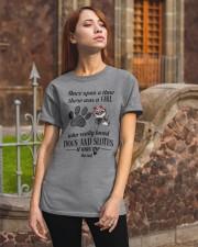 Sloth Girl Classic T-Shirt apparel-classic-tshirt-lifestyle-06