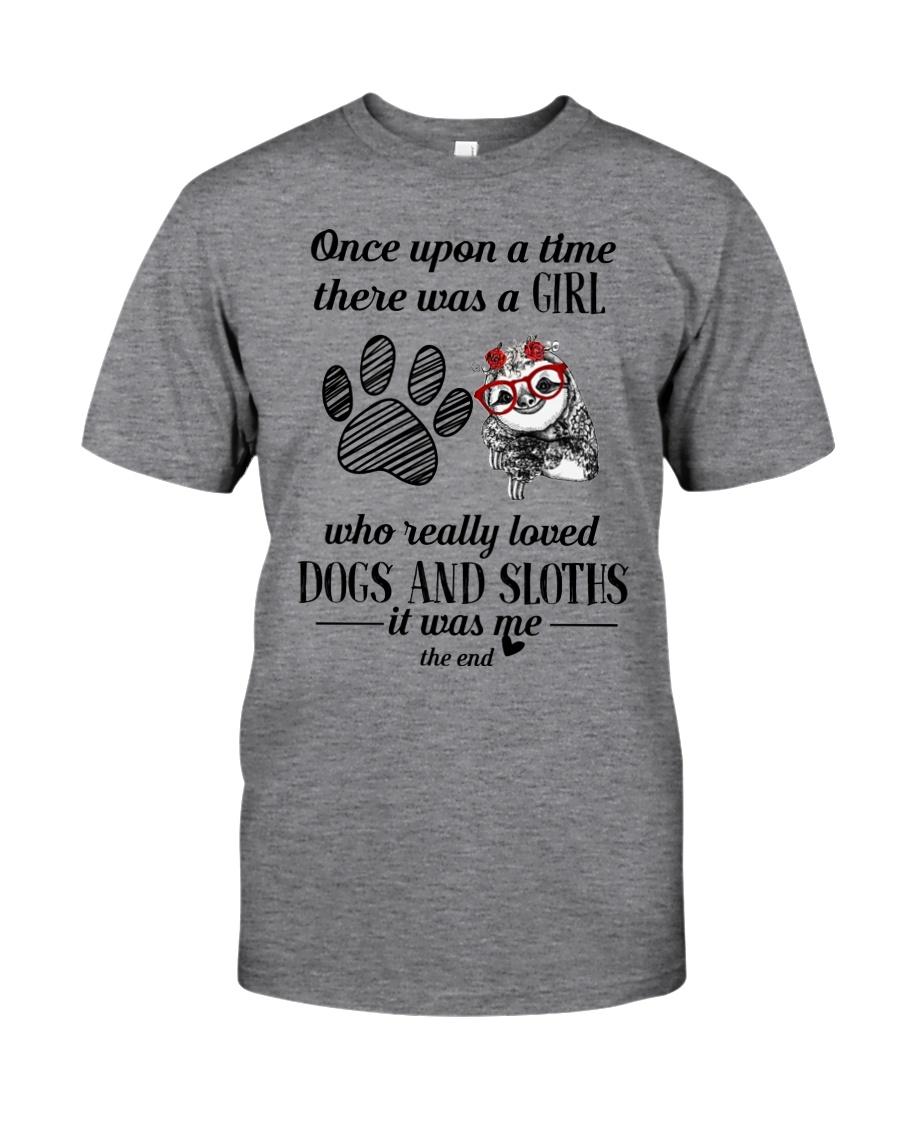 Sloth Girl Classic T-Shirt