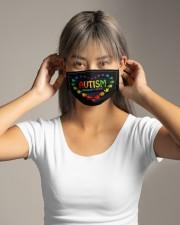 World Autism Awareness Cloth face mask aos-face-mask-lifestyle-16