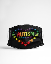World Autism Awareness Cloth face mask aos-face-mask-lifestyle-22