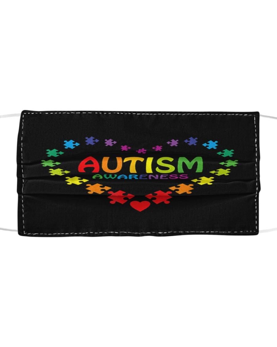 World Autism Awareness Cloth face mask