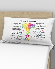 To my daughter Rectangular Pillowcase aos-pillow-rectangular-front-lifestyle-02