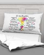 To my daughter Rectangular Pillowcase aos-pillow-rectangular-front-lifestyle-03