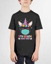 Quarantine Unicorn 5th Grade Youth T-Shirt garment-youth-tshirt-front-01