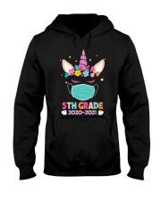 Quarantine Unicorn 5th Grade Hooded Sweatshirt thumbnail