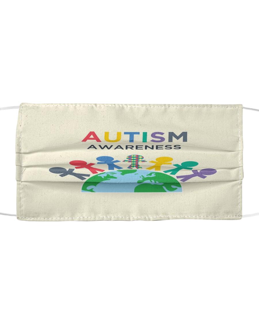 Autism 06 Cloth face mask
