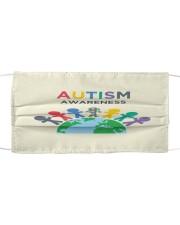 Autism 06 Cloth face mask front