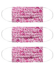 Breast Cancer 13 Cloth Face Mask - 3 Pack front