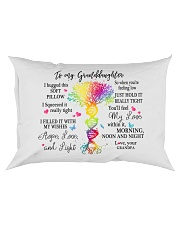 To my Granddaughter Grandpa Rectangular Pillowcase front