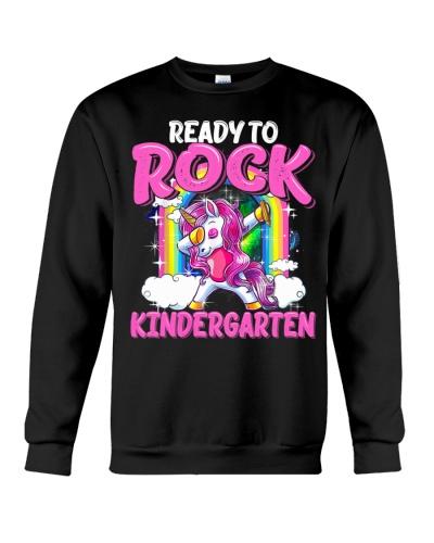 Ready To Rock Kindergarten Dabbing Unicorn