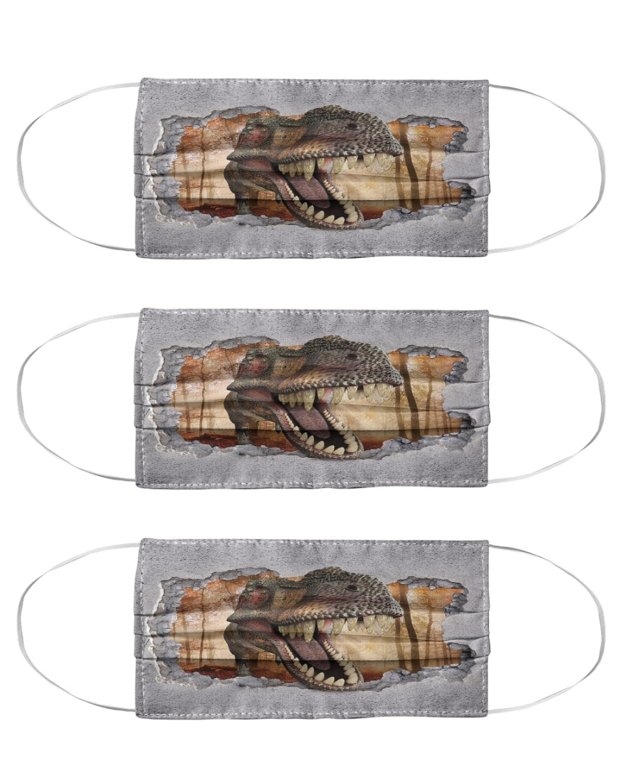 T Rex 19 Cloth Face Mask - 3 Pack