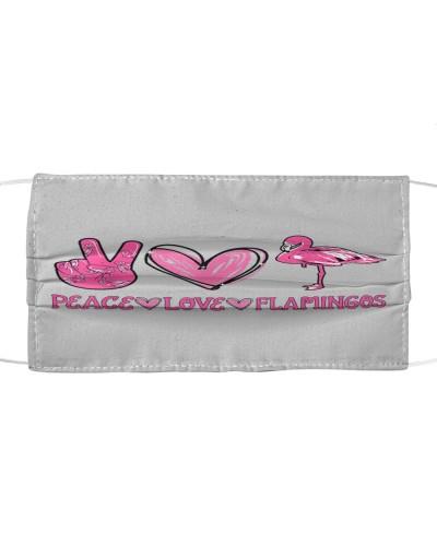 Peace Love Flamingo