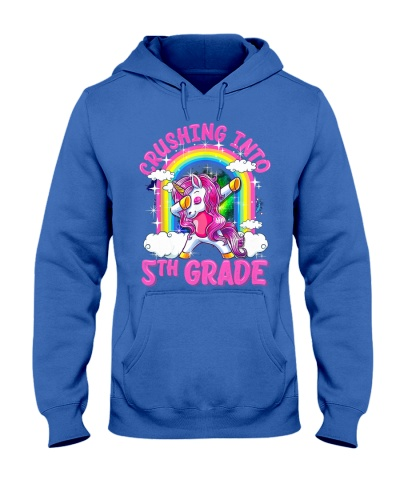 Crushing Into 5th Grade Dabbing Unicorn